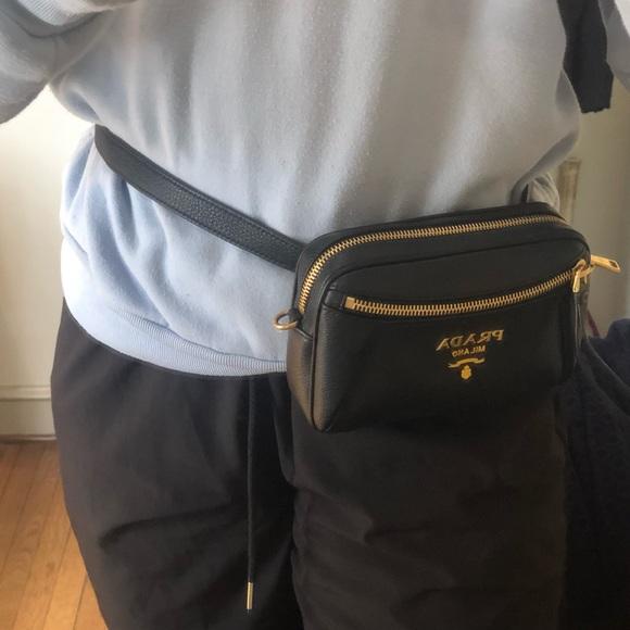 30eb45b3df0b Prada Bags   Convertible Belt Bag Vitello Daino Small   Poshmark